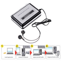 audio tape recorder - Portable Tape to PC USB Cassette to MP3 Converter Capture Audio Music Player Recorder DHL V345