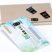 Wholesale 50pcs NEW HEICARD VERSION C only for iphone5s c iso7 x support g g g