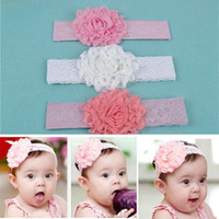 Hairbands Lace Floral 2014 Rose Silk Elastic Baby Toddler Children Girls Princess Hairwear Hair Flower Accessories 5468