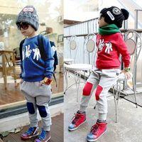 baby tracksuit - Baby Boy s Sets Children Clothing Sets Kids Suits Sets Baby Tracksuits Cotton Hoody Sweatshirt Pants SV006337