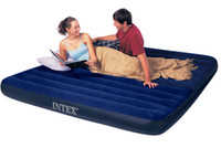 air mattress hand pump - Intex Queen Downy Air Bed inflatable Camping Mattress with hand pump free express