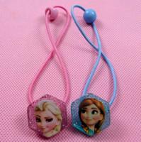 Frozen Princess Elsa Anna Baby Elastic Hair Bands Headwear C...