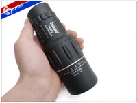 Cheap OP-HOT SALE 16X52 66M 8000M Field Monocular Telescope Sports Hunting Concert Spotting Scope with Green Film Free delivery