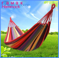 Cheap 1pcs Fashion Style Outdoor Hammock, Garden Swing, Fasten Comfortable and Safe, Sun Loungers, 2 Color Options
