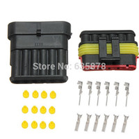 Wholesale New Car Part Pin Way Sealed Waterproof Electrical Wire Auto Connector Plug Set