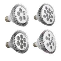 Wholesale Ship From USA LED E27 Bulb Lights Spotlight AC85 V Lm W W W W PAR20 PAR30 PAR38 LED Bulbs Light Lighting Lamp Warm Coo White