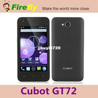 Cheap Cubot GT72 mtk6572 dual core 1.2G 4.0 inch LCD capacitive screen GPS WIFI 3.0MP RAM 256M ROM 512M cheap android smart phone