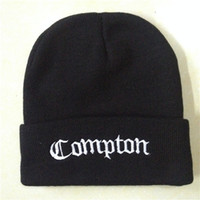 Top Quality Compton Beanies Acrylic Hats Winter Skull Caps T...