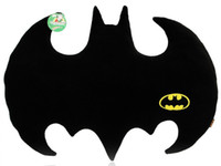 batman car seat covers - New Novetly Fleece Animal Cartoon Batman Pillow Dark Knight Rises Home Sofa Seat Chair Car Throw Cushion Cover Case Decor Lumbar Support Toy