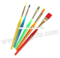 artist paint brushes lot - 15PCS Mixed shape paint brushes Artist pen Watercolor brush Art tools Oil brush Craft material DIY accessories