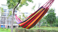 Cheap New canvas fabric camping hammock for outdoor furniture outdoor hammock