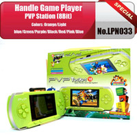 Wholesale Game PVP station bit video green games player TV out Function quot multicolor TFT LCD Free Game card Free shippng