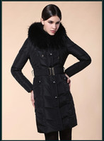 2014 Winter New Large fur collar Woman Long Down coat Faisho...