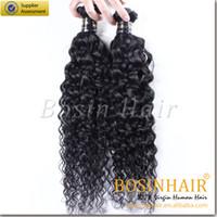 Wholesale Braiding Hair Hair extension Bundles Jet Black Brazilian Remy Human Hair Extension