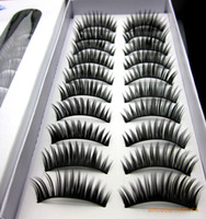 Wholesale Makeup series dense type false eyelashe pairs a boxed thick eyelashes Optional multi style a653