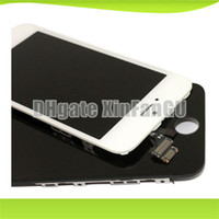 Cheap For Apple iPhone Lcd assembly for iphone5 Best LCD Screen Panels White LCD digitizer for Iphone5
