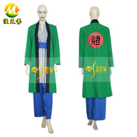 Anime Costumes Unisex People Fifth Hokage Tsunade Naruto anime character cosplay costume role-playing uniforms
