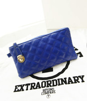 Cheap Women Plaid Purse Wrist Clutch Bags Lady Wallet Zip Card Slot Bag Wristlet Evening Party Birthday Christmas Gift