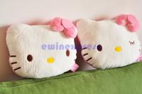 Wholesale 5X Cute Hello Kitty Auto Car Seat Head Rest Cushion Pillows Neck Rest Pillows
