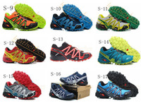 Wholesale Outdoor Shoes Salomon SPEEDCROSS3 CS Walking Shoes Men Athletic Shoes Running Shoes Men Sports Shoes Mens Sneakers