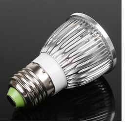 Wholesale E27 LED Bulb lamp V W LM led Spot light White Warm white led lighting DHL LY