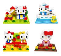 40pcs LOZ 3D puzzle toy building blocks small particles of d...