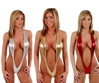 Cheap 2015 Hot Sexy Lingerie Latex Teddy Bodysuits Women Hater Leotard Goblin Catsuit Night Club Wear Stripper Pole Dance Clothes Costumes Uniform