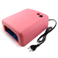 uv lamp - Nail Light Therapy Machine Pink UV Lamp W V Gel Curing Nail Art EU Plug with nm UV Bulb Nail Dryer Nail Art Salon