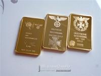 art karat - 30 Karat Gold Clad German Bullion Art Bar deutsche reichsbank gold metal bullion coins