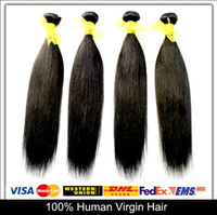 Wholesale Soft Human Hair Malaysian Virgin Hair Straight Unprocessed Hair Weaves A Hair Wefts inch