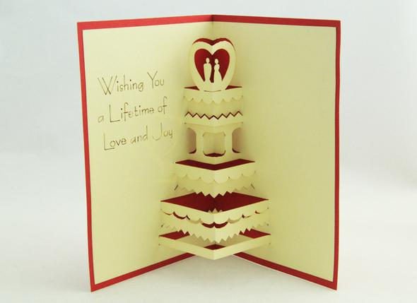 Wedding Return Gift Message : ... Lover Gift Wedding Invitations Cards 110*150mm Red Blue Free Shipping