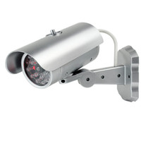Wholesale Home Surveillance Security Camera Dummy IR Simulation Fake Camera With Sensor Light LED Flashing New F2138D