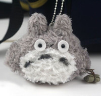 Cheap Wholesale - 20pcs Mini Love Plush Toy Totoro Doll Keychain Best Gift For Girl 8CM