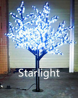 led cherry tree - LED Christmas Light Cherry Blossom Tree Light LEDs ft M Height VAC VAC Rainproof Outdoor Usage Drop Shipping