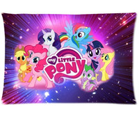 Wholesale Free Drop shipping My Little Pony pillow case x24 x30 one or two sides PillowCase MyLittlePony