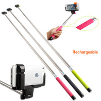 Wholesale Extendable Handheld Wireless Bluetooth Selfie Monopod For iOS Android iPhone Samsung Phones