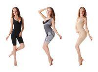 acrylic bamboo - Women Bamboo Fiber Magic Slimming Underwear Charcoal Body SHAPER WAIST Cincher Butt Lifter Underwear Black Skin Color S0373