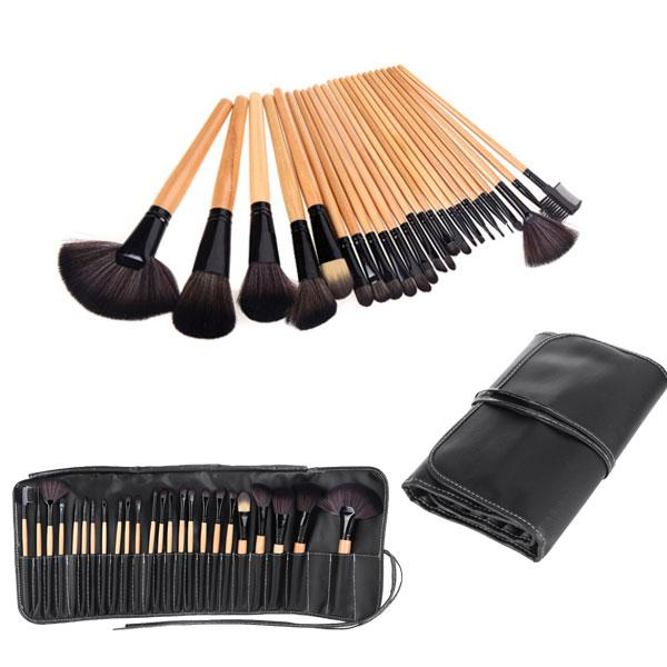 New Wood Cheap Good Quality Makeup Brushes Kit Professional ...