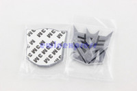 Aluminum Sticker aluminum body cars - Car Auto Robot Aluminum Decepticon Emblem Sticker Center hub New Good Quality Freeship Hot sale