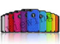 air diamonds - 2 in Heavy Duty Hybrid Hard case TPU PC Case Cover Fashion Diamond Stars case for iphone Air G TH iphone6