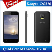 Wholesale SZDEVEC Original DOOGEE VOYAGER2 DG310 Smart Phone Android MTK6582 Quad Core GHz GB RAM GB ROM inch Screen Camera MP GPS