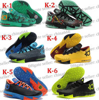 Cheap 2014 New Easter Christmas VI KD6 wholesale basketball Top Quality Men kevin KD 6 vi cheap Brand Shoes durant for Sale running sport shoes