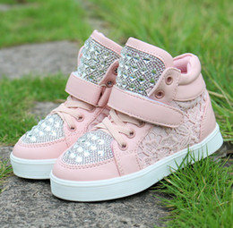 Wholesale 2014 Spring autumn new children s shoes korean individuality kids casual shoes of the girls board shoes size pair SM449