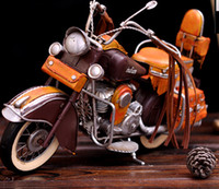 Wholesale Indian motorcycle model Warchief handmade wrought iron furnishings Wedding Gifts Birthday Gift Valentine s Day Gift