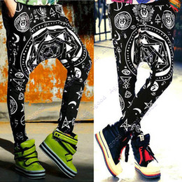 Wholesale New Women s Baggy Hip Hop Dance Sport Sweat Pants Elastic Trousers SV004833