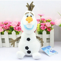 Wholesale High Quality cm Frozen Olaf Baby Doll Frozen the Snowman Plush Doll Stuffed Action Figures Movie Toys Christmas Gifts