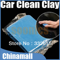 Cheap Mini Handheld Blue Practical Magic Car Surface Clean Clay Bar Auto Detailing Recycle Cleaner Free Shipping 2pcs lot