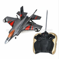 Cheap Cool 4 Channel F35 RC EPP Airplane Glider Fighter w Remote Controller Toy Gift Free Shipping & Drop Shipping
