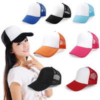 Wholesale RETAIL Durable Multifunctional Baseball Golf Mesh Cap Rapper Trucker Snapback Hat Many Color For Choice