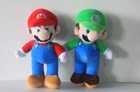 mario plush - 10inch High Quality Super Mario Soft Plush MARIO LUIGI MARIO BROS PLUSH DOLL